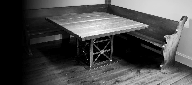 Custom Furniture  Where Wood Meets Steel  Hamilton Ont