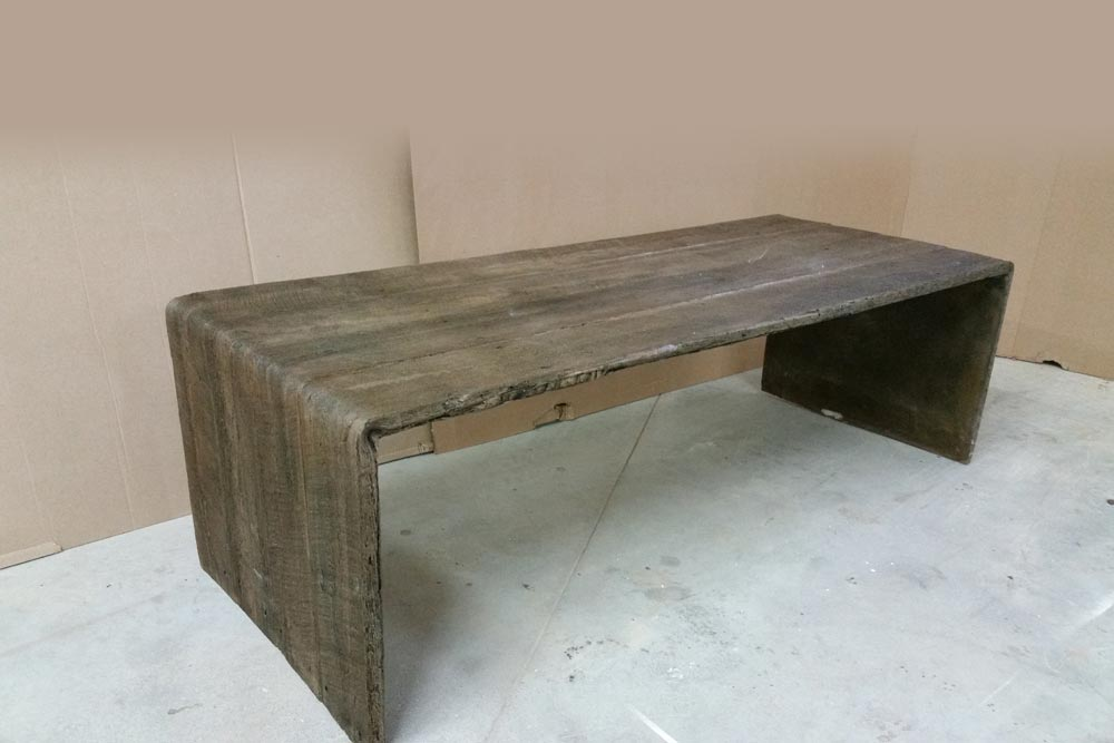 895 Coffee Table Outdoor Concrete Collection Collections Custom Furniture Hamilton On