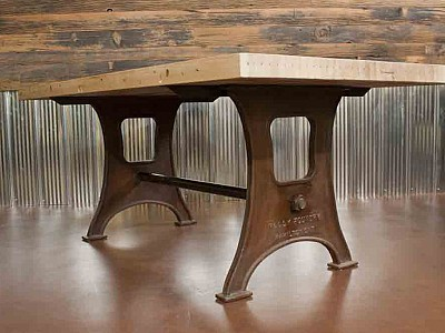 Steel wood furniture hamilton ontario real mccoy 079